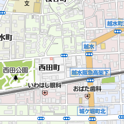 西宮駅 西宮市 駅 の地図 地図マピオン