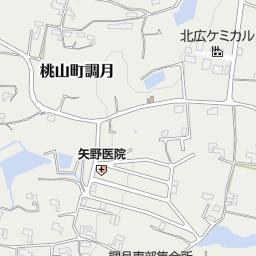 紀の川市立調月小学校(紀の川市/小学校)の地図|地図マピオン