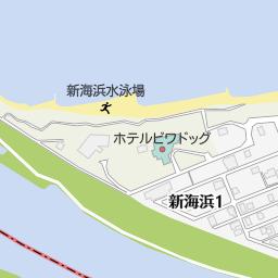 新海浜水泳場(彦根市/海水浴場...