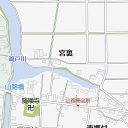 愛西市立立田南部小学校(愛西市/小学校)の地図|地図マピオン