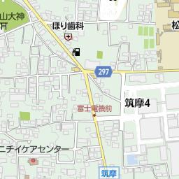 薄川 松本市 河川 湖沼 海 池 ダム の地図 地図マピオン