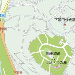 分郷八崎寄居線(渋川市/道路名)の地図|地図マピオン