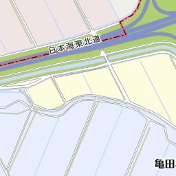 イオンシネマ新潟南 新潟市江南区 映画館 の地図 地図マピオン