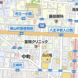八王子駅 八王子市 駅 の地図 地図マピオン