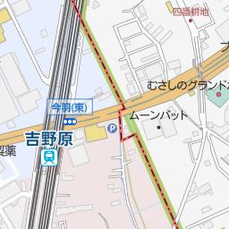 原市団地北口 上尾市 バス停 の地図 地図マピオン