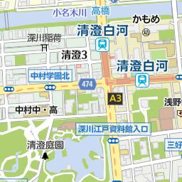 清澄白河駅 東京都江東区 周辺の美容院 美容室 床屋一覧 マピオン